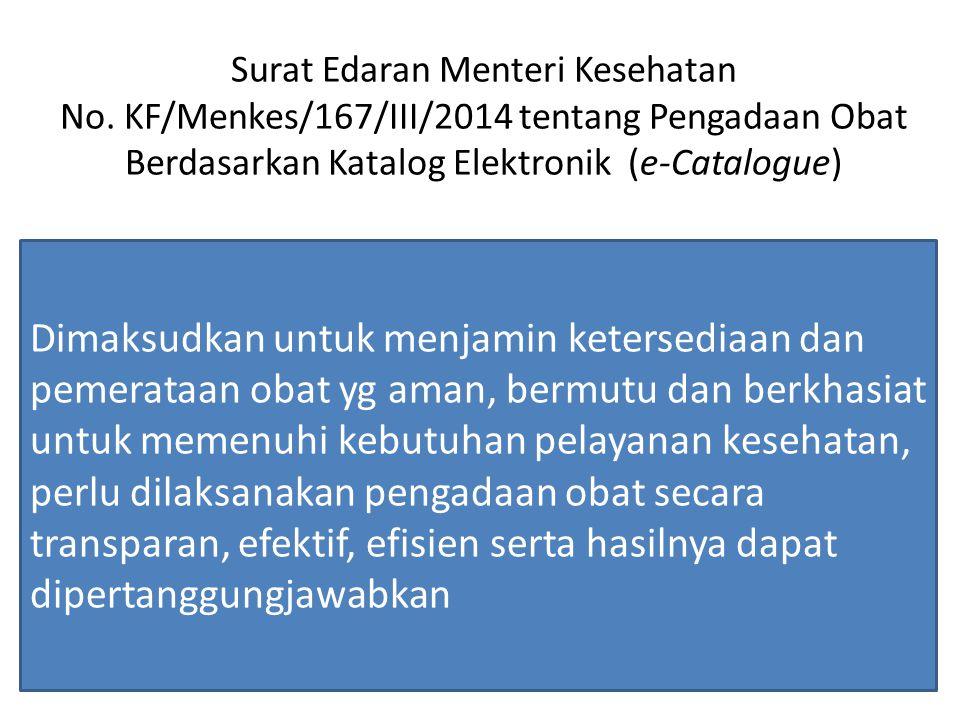 Surat Edaran Menteri Kesehatan No