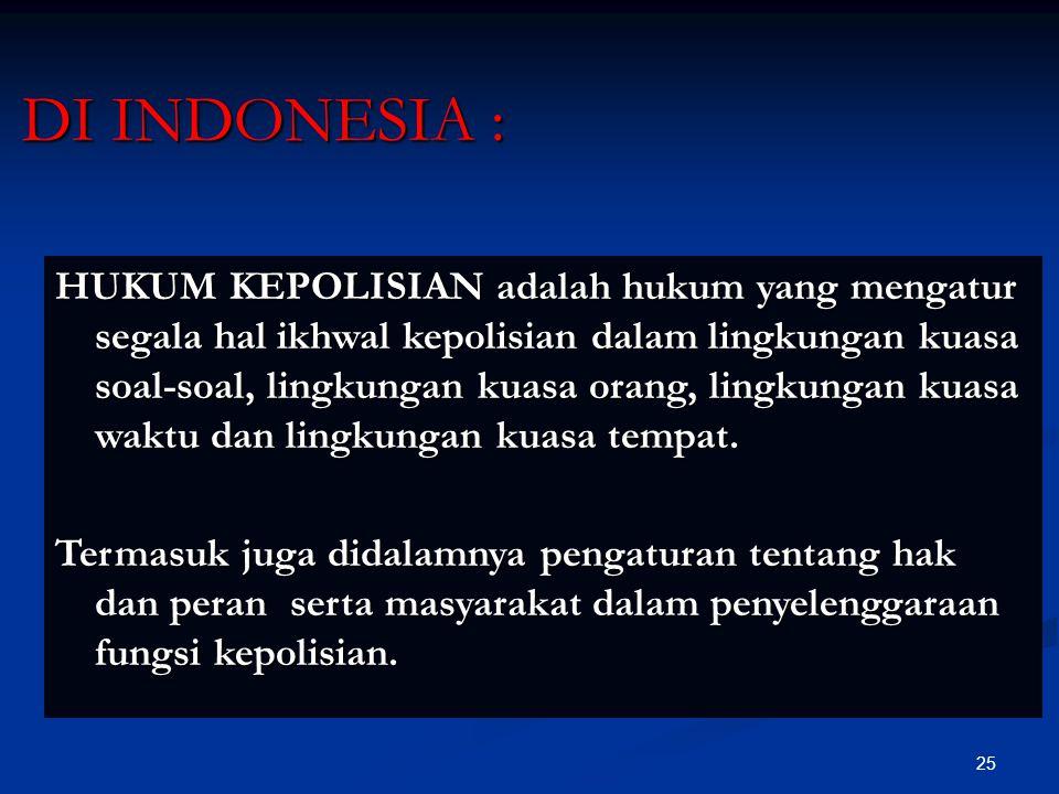 DI INDONESIA :