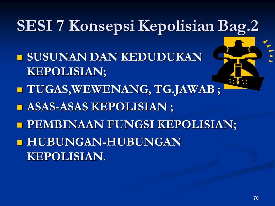 SESI 7 Konsepsi Kepolisian Bag.2