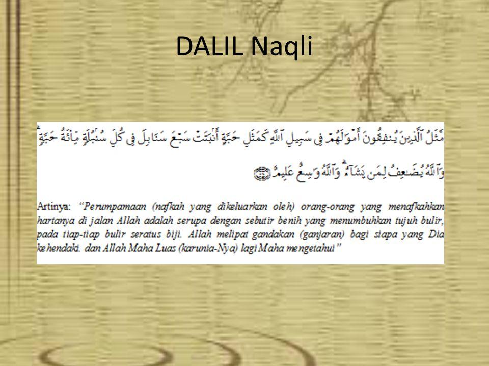 DALIL Naqli