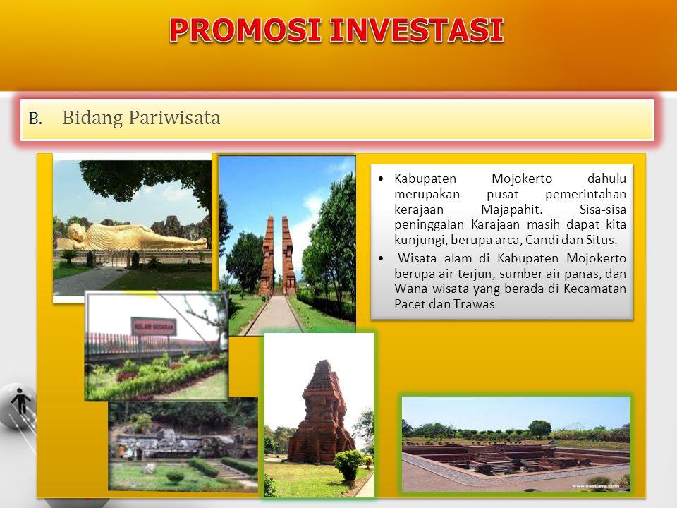 PROMOSI INVESTASI Bidang Pariwisata
