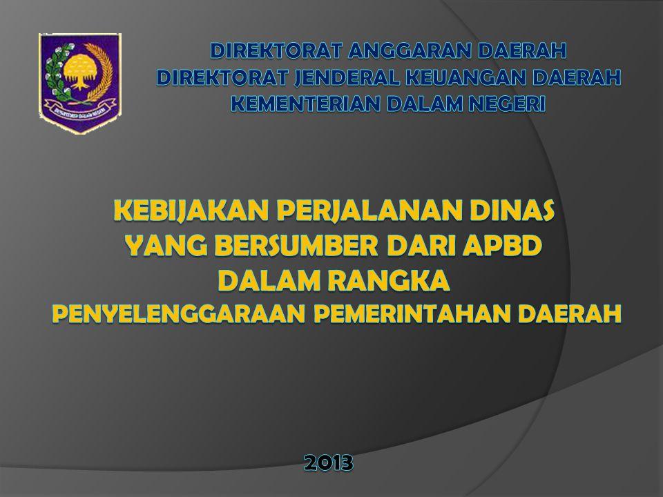Direktorat anggaran daerah