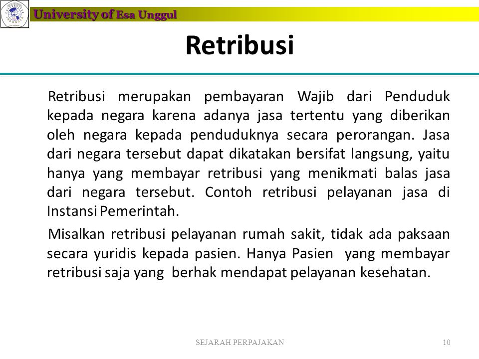 Retribusi