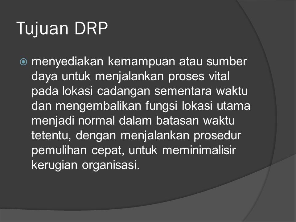 Tujuan DRP