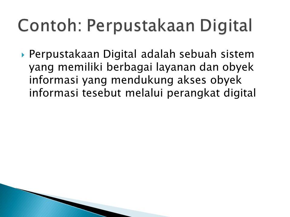 Contoh: Perpustakaan Digital