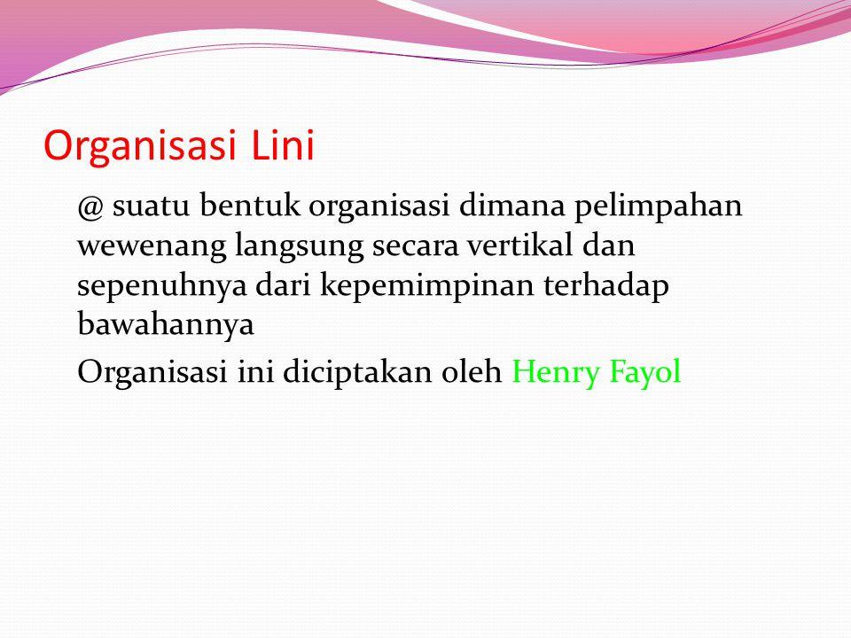 Organisasi Lini