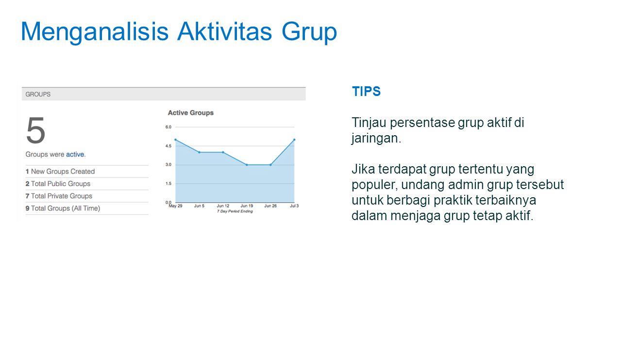 Menganalisis Aktivitas Grup