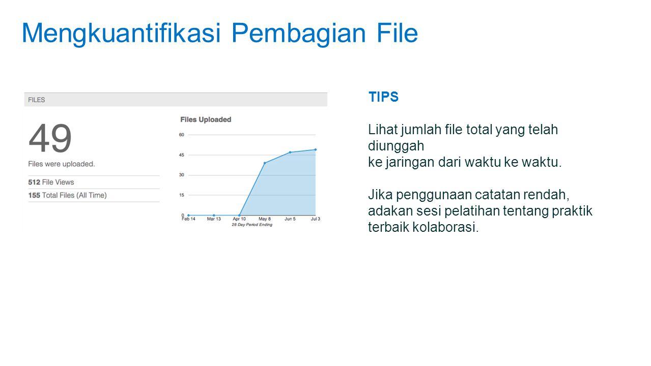 Mengkuantifikasi Pembagian File