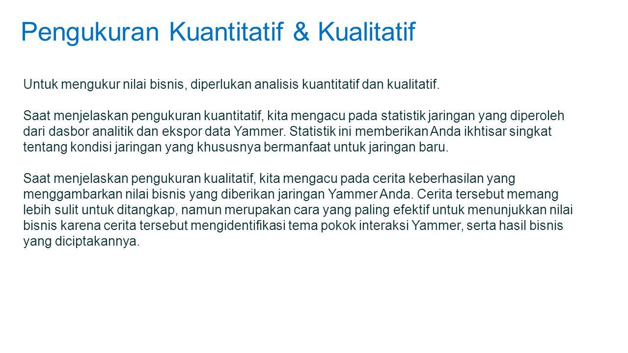 Pengukuran Kuantitatif & Kualitatif