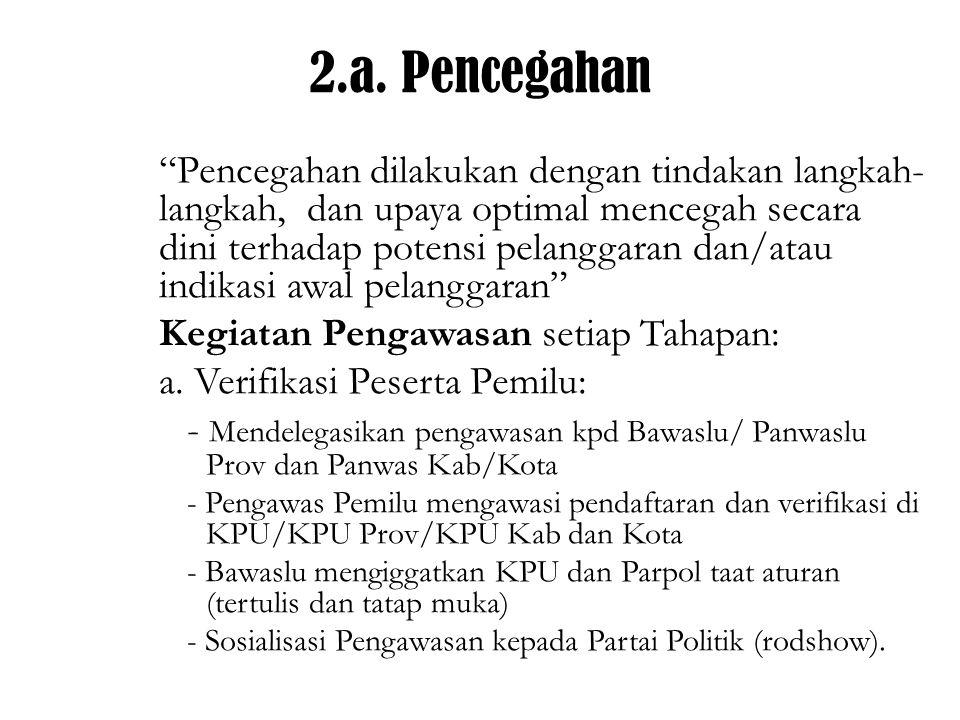 2.a. Pencegahan