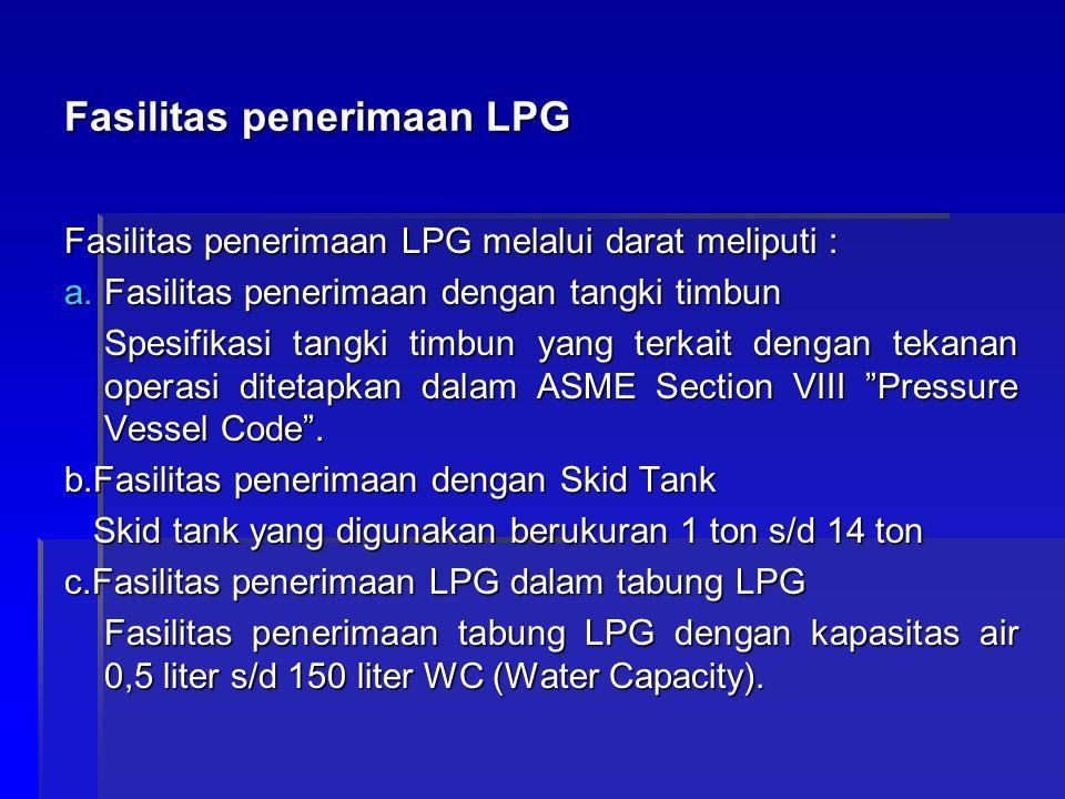 Fasilitas penerimaan LPG