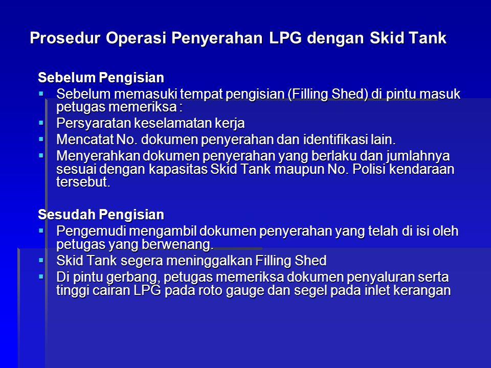 Prosedur Operasi Penyerahan LPG dengan Skid Tank