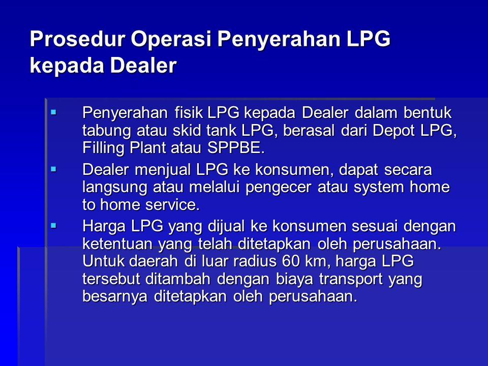 Prosedur Operasi Penyerahan LPG kepada Dealer