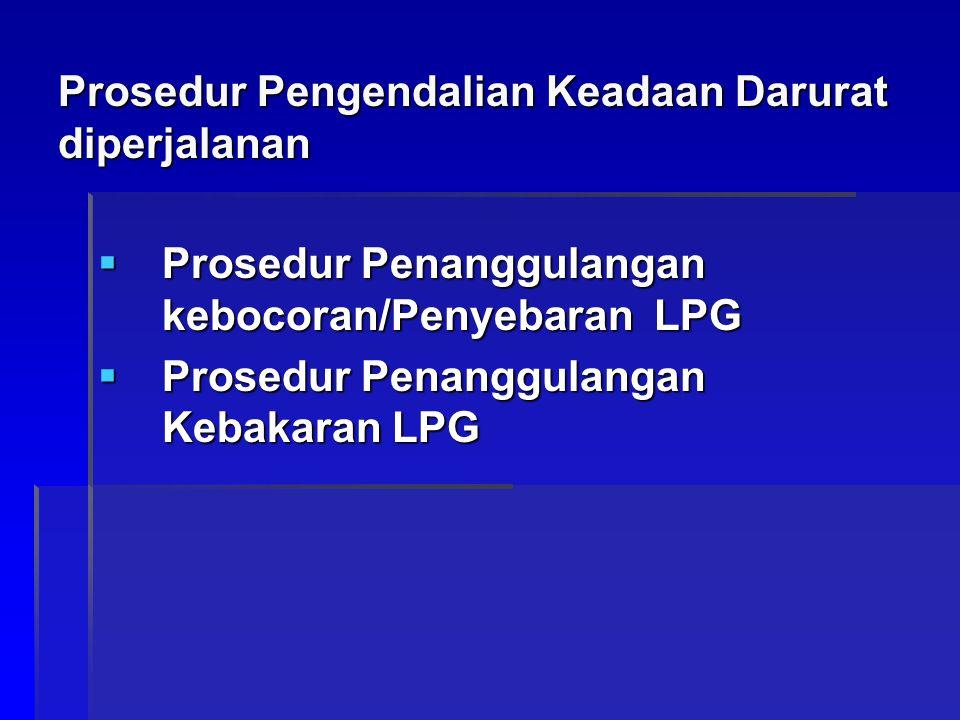 Prosedur Pengendalian Keadaan Darurat diperjalanan