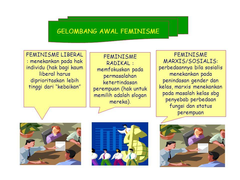 GELOMBANG AWAL FEMINISME