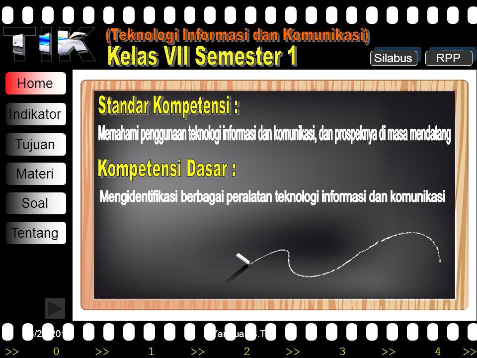 (Teknologi Informasi dan Komunikasi) Kelas VII Semester 1