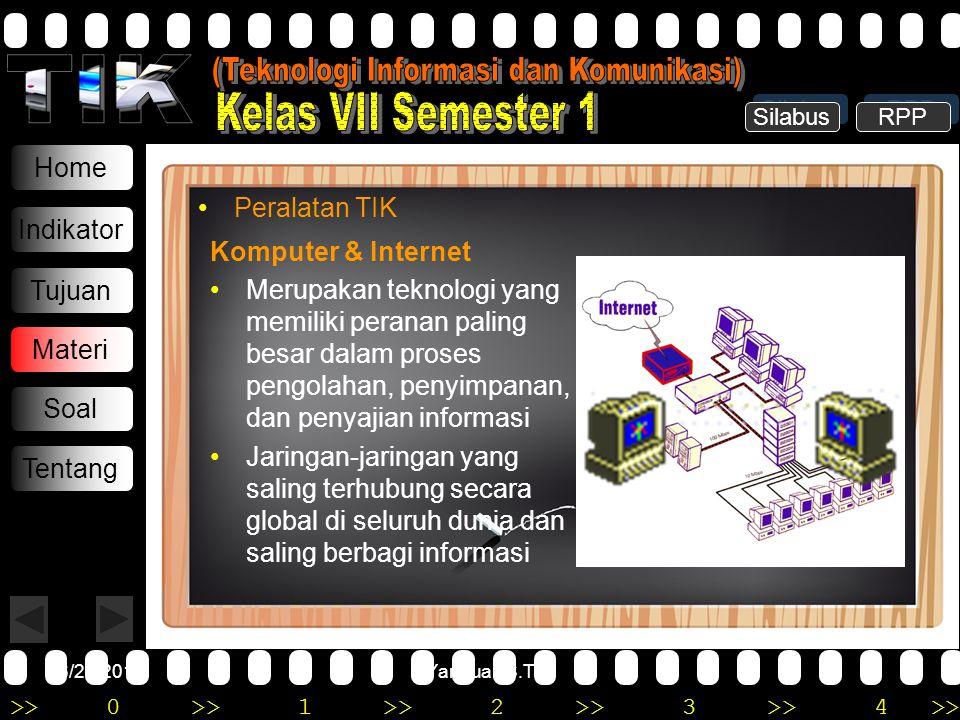 (Teknologi Informasi dan Komunikasi)