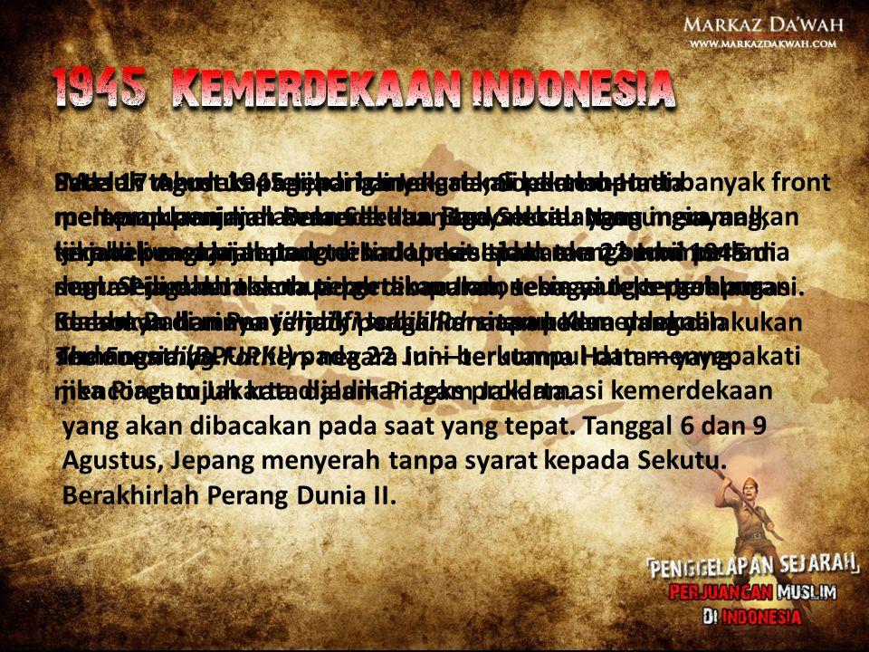 1945 Kemerdekaan indonesia