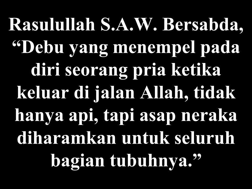 Rasulullah S.A.W.