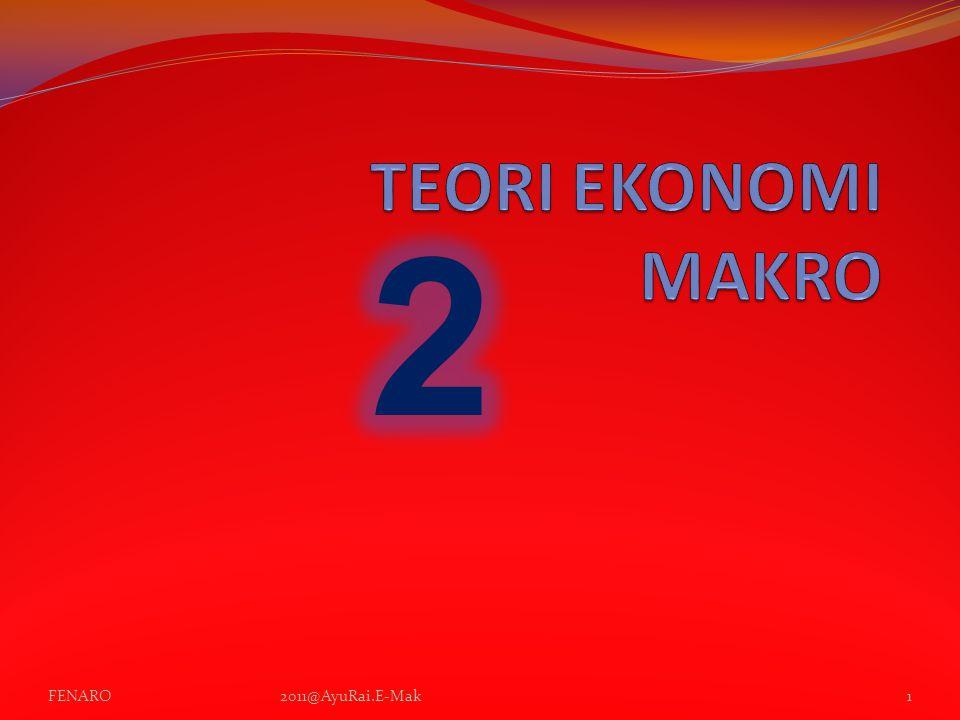 TEORI EKONOMI MAKRO 2 FENARO 2011@AyuRai.E-Mak