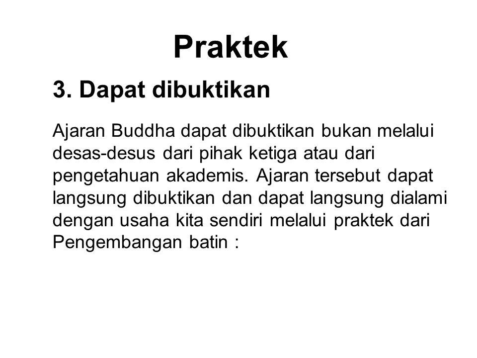 Praktek 3. Dapat dibuktikan