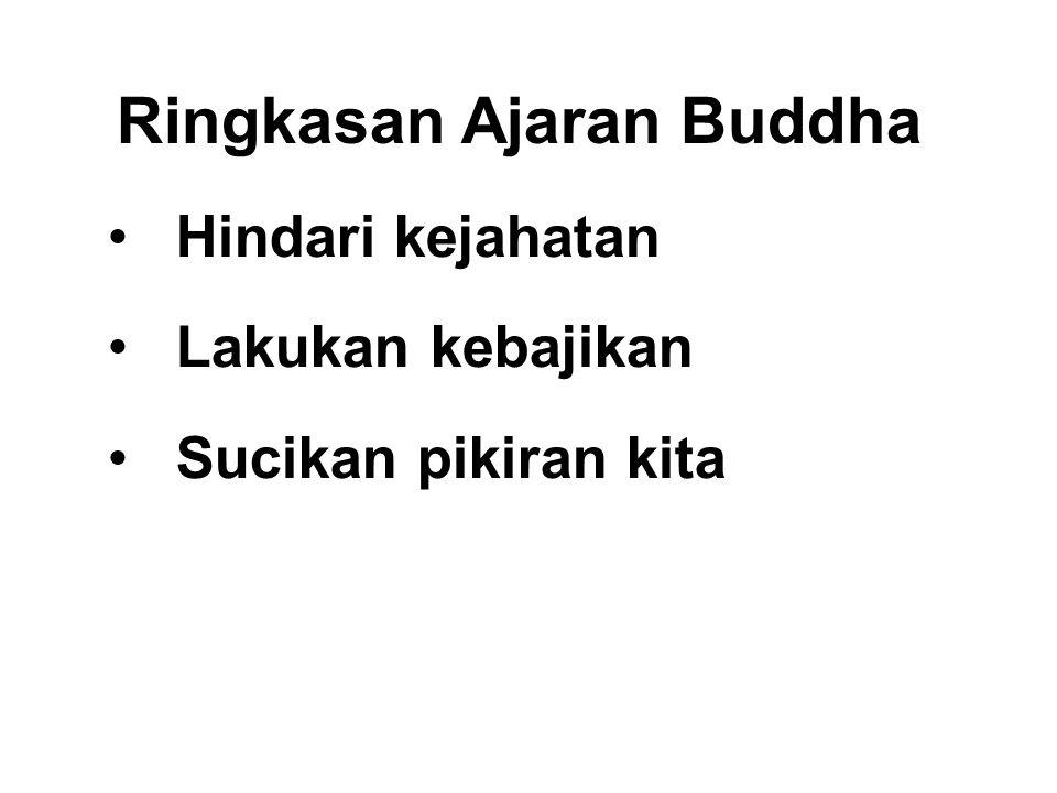 Ringkasan Ajaran Buddha