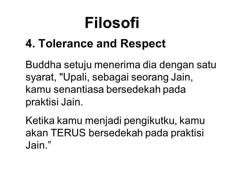 Filosofi 4. Tolerance and Respect