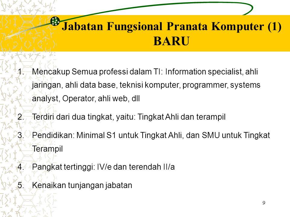 Jabatan Fungsional Pranata Komputer (1)