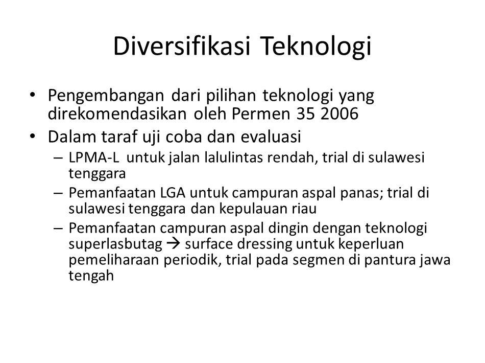Diversifikasi Teknologi