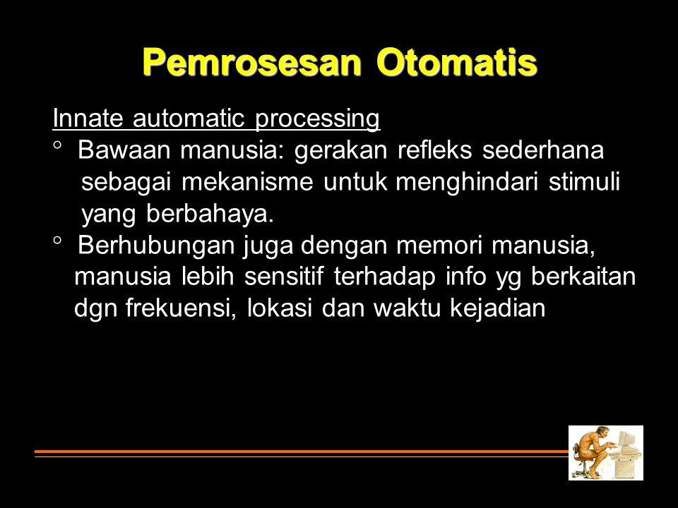 Pemrosesan Otomatis Innate automatic processing