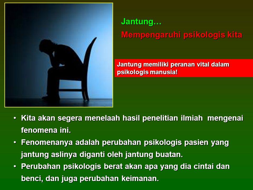 Mempengaruhi psikologis kita