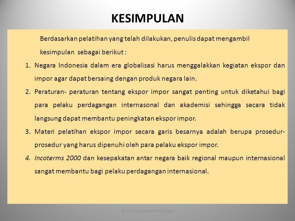 diseminasi phkA3M/09/gts