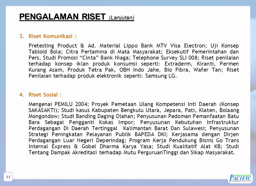 5 Layanan Jasa PRP Services Market Management Research Consultation