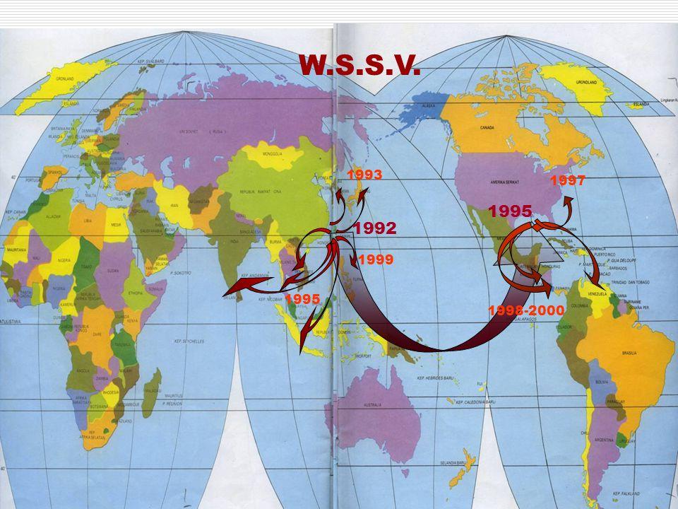 W.S.S.V. 1993 1997 1995 1992 1999 1995 1998-2000