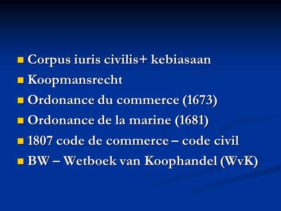 Corpus iuris civilis+ kebiasaan