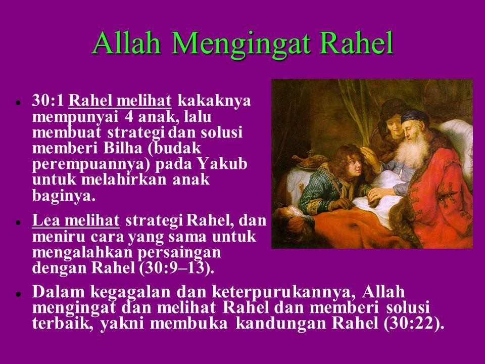 Allah Mengingat Rahel