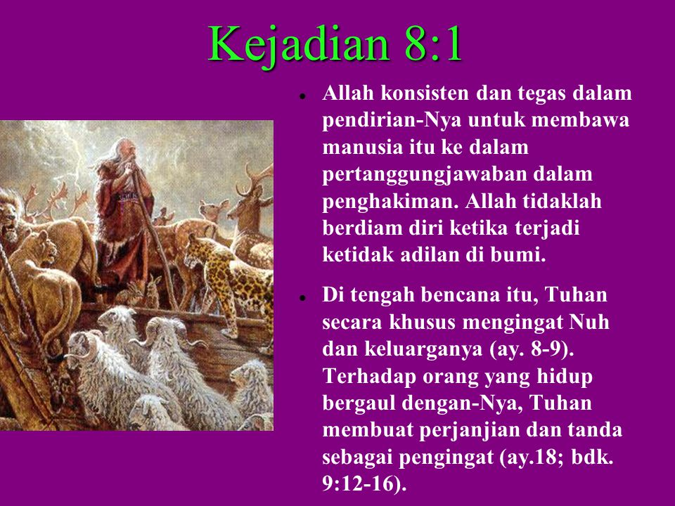 Kejadian 8:1