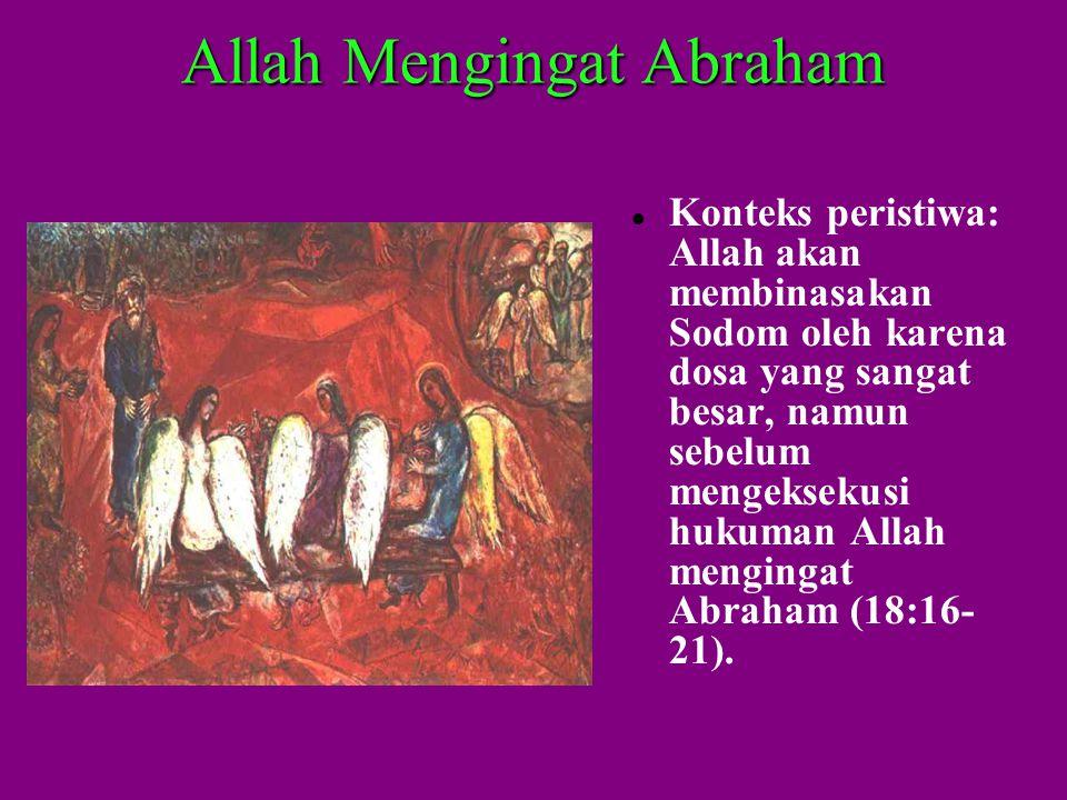 Allah Mengingat Abraham