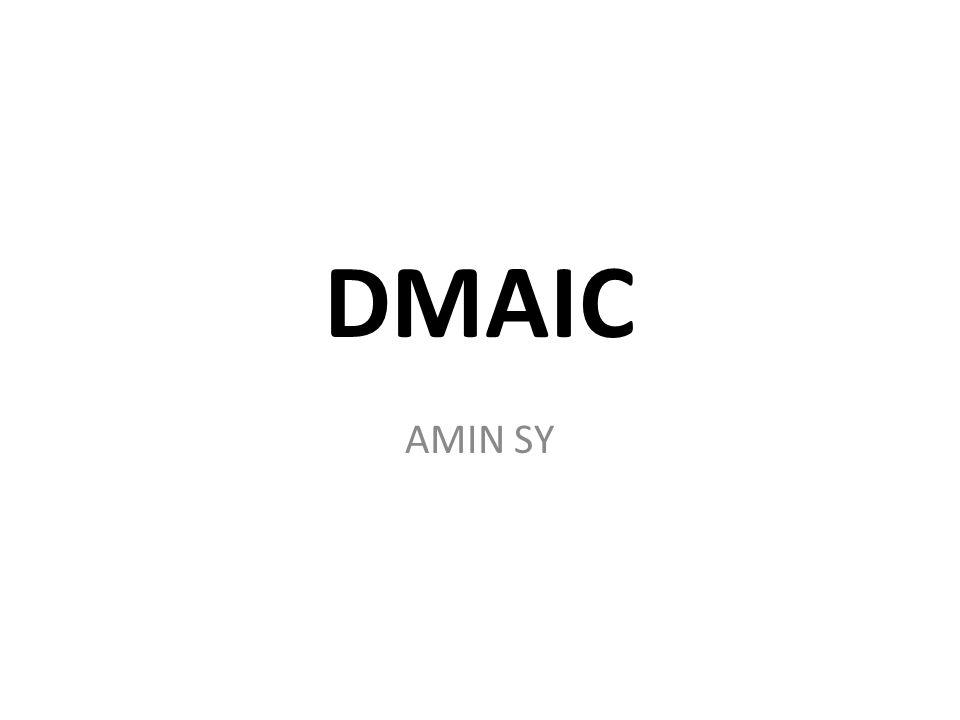 DMAIC AMIN SY
