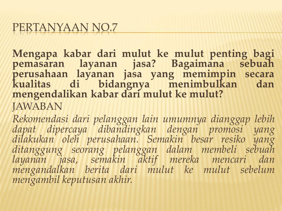PERTANYAAN NO.7