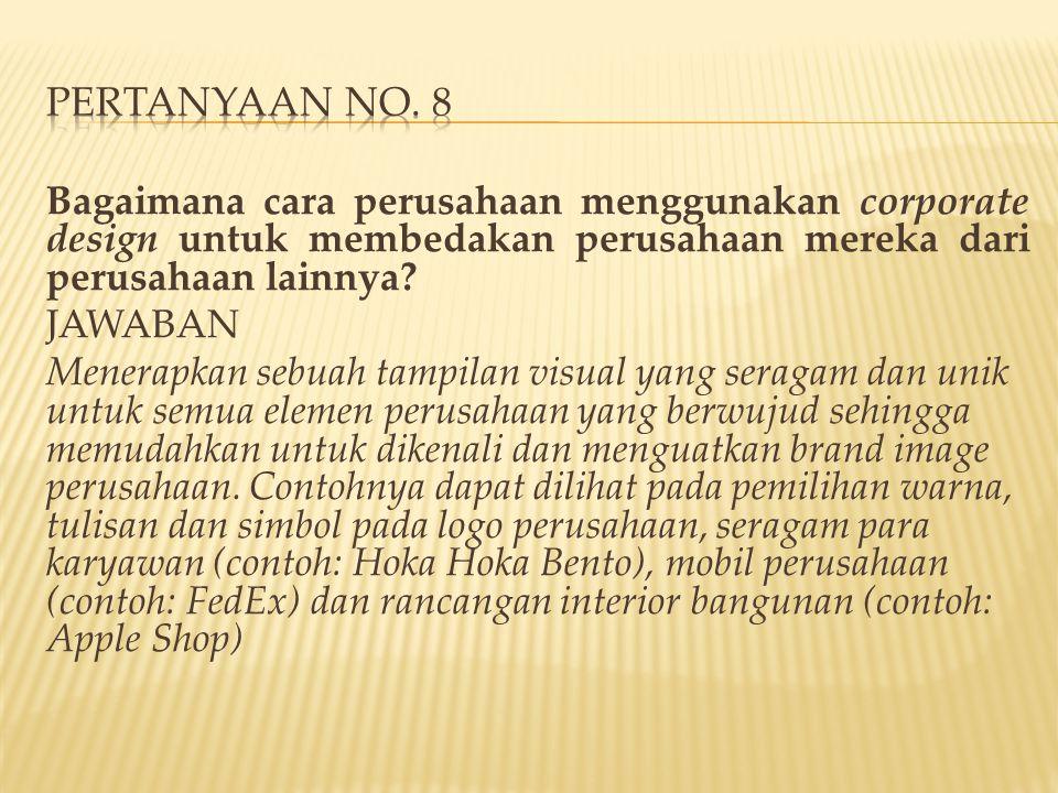 PERTANYAAN NO. 8
