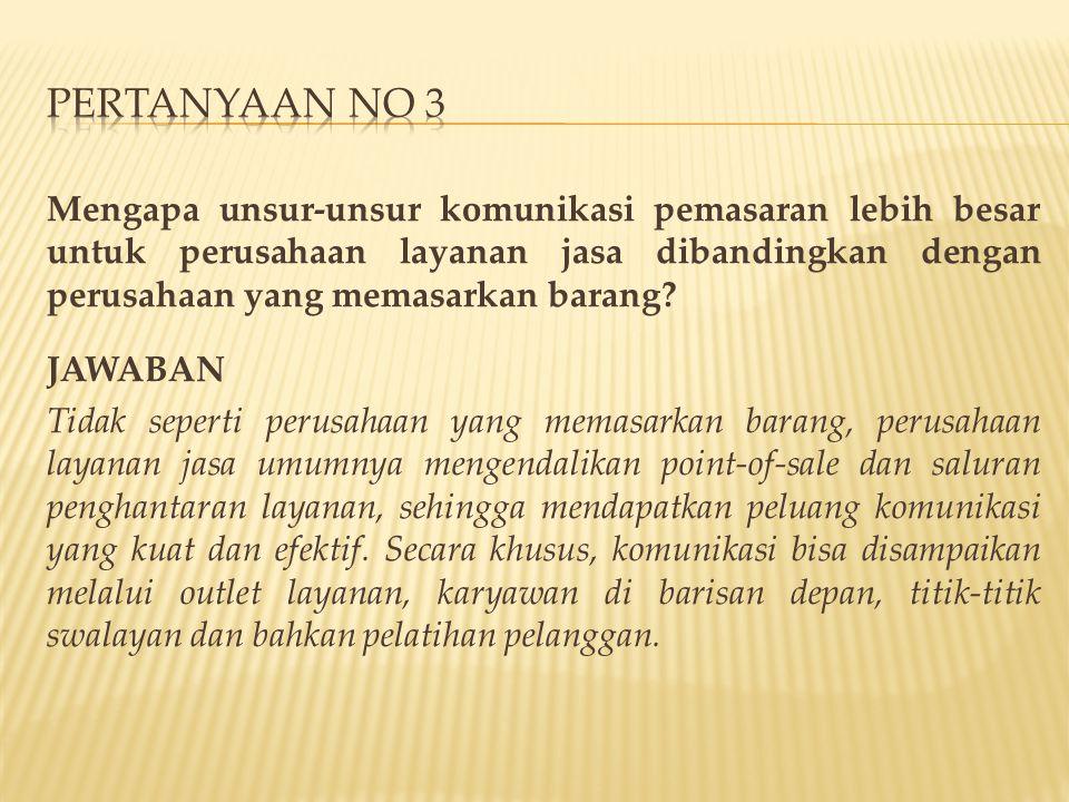 Pertanyaan no 3