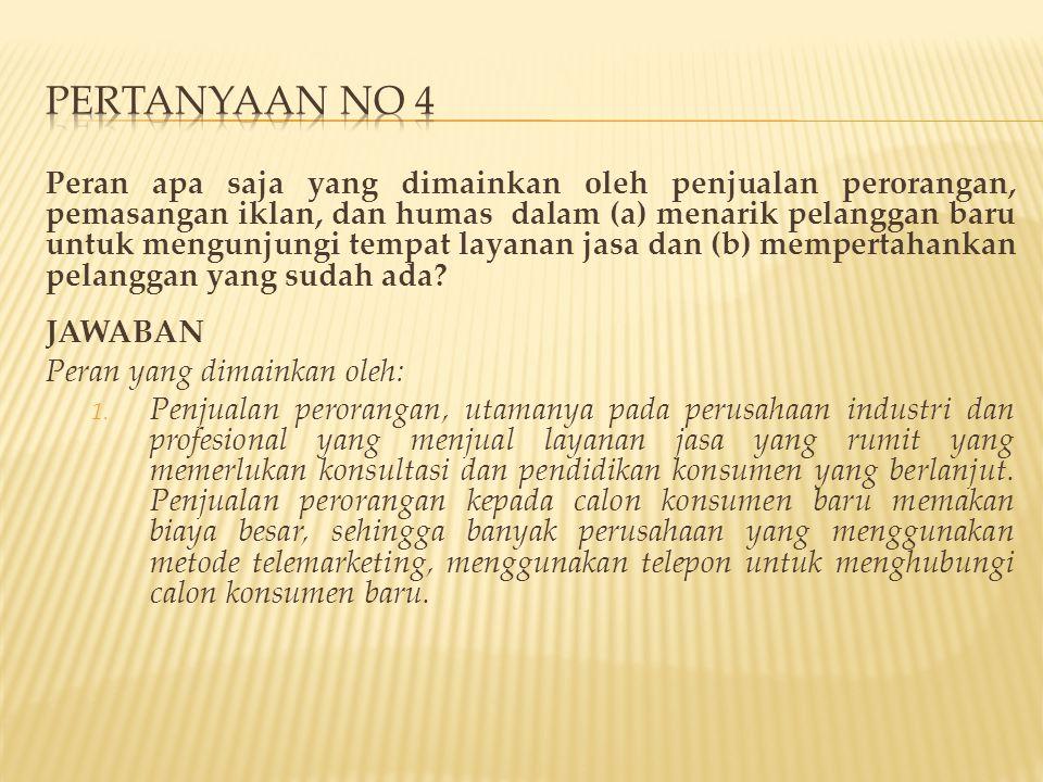PERTANYAAN NO 4