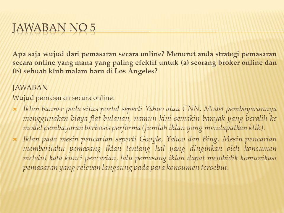 JAWABAN NO 5