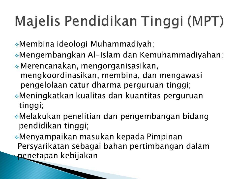 Majelis Pendidikan Tinggi (MPT)