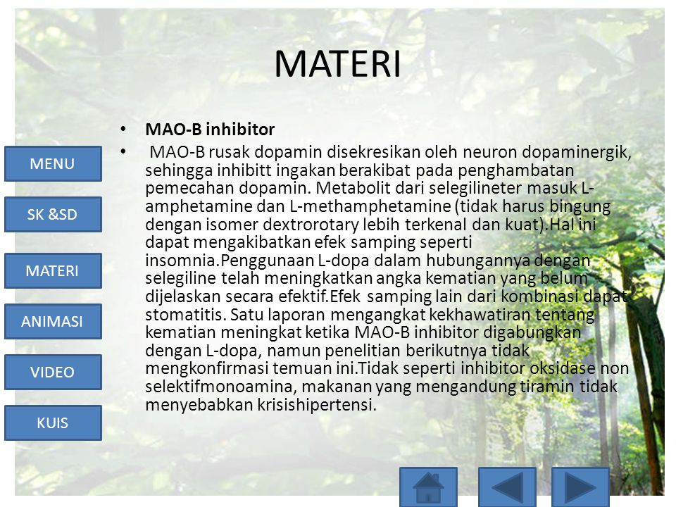MATERI MAO-B inhibitor