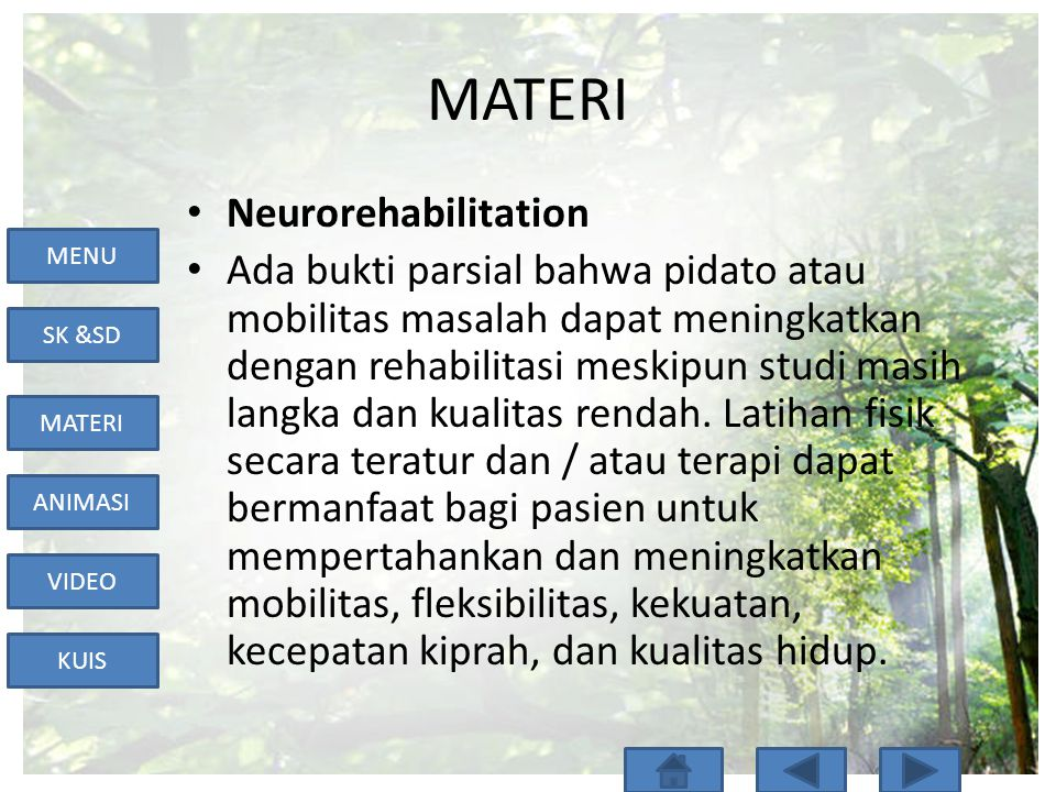 MATERI Neurorehabilitation