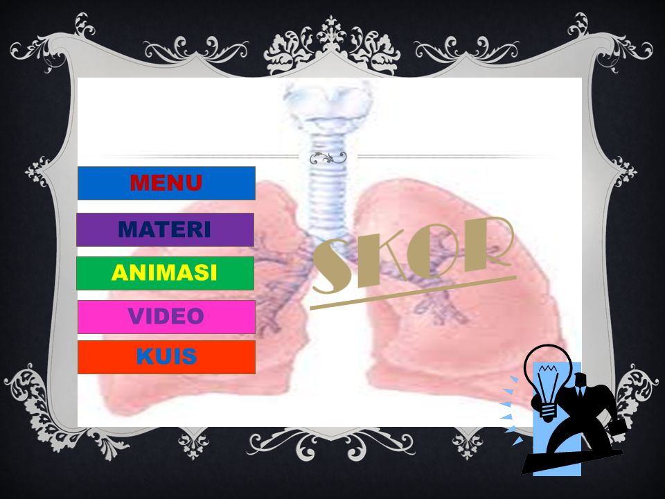 MENU SKOR MATERI ANIMASI VIDEO KUIS