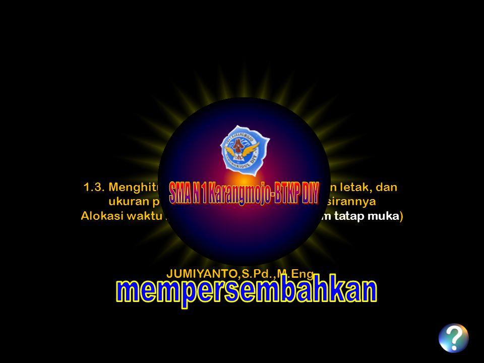 SMA N 1 Karangmojo-BTKP DIY