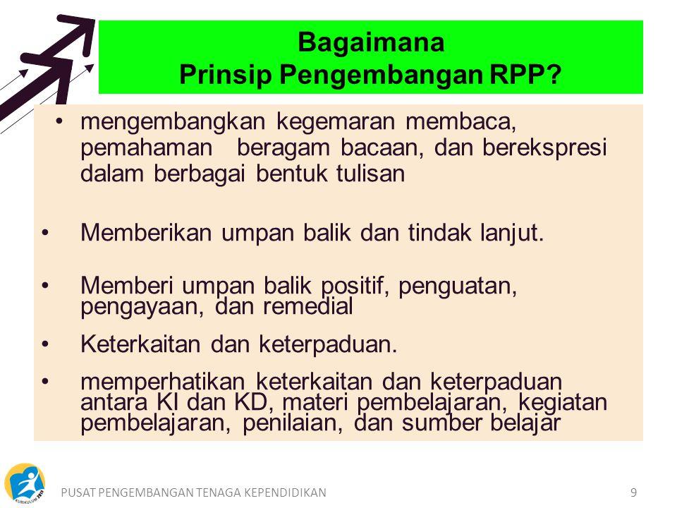 Bagaimana Prinsip Pengembangan RPP